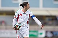 Fotball<br /> Iran v Hviterussland<br /> 18.05.2014<br /> Kapfenberg Østerrike<br /> Foto: Gepa/Digitalsport<br /> NORWAY ONLY<br /> <br /> Bild zeigt Andranik Teymourian (IRI).