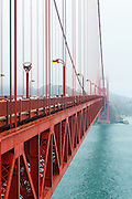 San Francisco's Historic Golden Gate Bridge