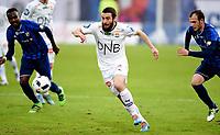 Fotball , 20. april 2016 , Tippeligaen , Eliteserien , <br /> Stabæk - Strømsgodset <br /> <br /> Mounir Hamoud , SIF