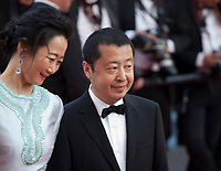 Actress Tao Zhao and director Zhangke Jia at the Ash Is The Purest White (Jiang Hu Er Nv) gala screening at the 71st Cannes Film Festival, Friday 11th May 2018, Cannes, France. Photo credit: Doreen Kennedy