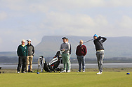 Darragh Flynn on the 12th tee during Round 4 of The West of Ireland Open Championship in Co. Sligo Golf Club, Rosses Point, Sligo on Sunday 7th April 2019.<br /> Picture:  Thos Caffrey / www.golffile.ie