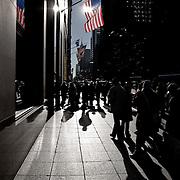 People walking on fifth avenue