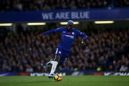 Tiemoue Bakayoko of Chelsea in action.  Premier league match, Chelsea v Manchester United at Stamford Bridge in London on Sunday 5th November 2017.<br /> pic by Kieran Clarke, Andrew Orchard sports photography.