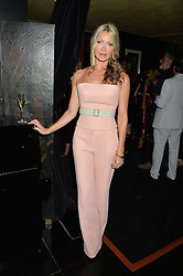 CAPRICE BOURRET at the launch of Blakes Below at Blakes Hotel, 33 Roland gardens, London SW7 on 14th September 2016.