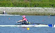 Reading. United Kingdom. GBR LW1X, Charlotte TAYLOR, Redgrave and Pinsent Rowing Lake. Caversham.<br /> <br /> 09:50:49  Saturday  19/04/2014<br /> <br />  [Mandatory Credit: Peter Spurrier/Intersport<br /> Images]