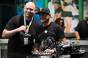 LAS VEGAS, NV - JULY 10:  Dominick Cruz signs an autograph for a fan during UFC Fan Expo Day 3 at the Las Vegas Convention Center on July 10, 2016 in Las Vegas, Nevada. (Photo by Cooper Neill/Zuffa LLC/Zuffa LLC via Getty Images) *** Local Caption *** Dominick Cruz