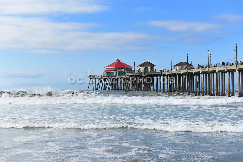Huntington Beach Pier and Ruby's Restaurant
