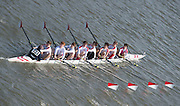 Chiswick, London, Great Britain.<br /> Radley CollegeJ15 Champ eight,competing at the <br /> 2016 Schools Head of the River Race, Reverse Championship Course Mortlake to Putney. River Thames.<br /> <br /> Thursday  17/03/2016<br /> <br /> [Mandatory Credit: Peter SPURRIER;Intersport images]