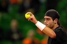 20010210 NED: Daviscup Nederland - Spanje, Eindhoven