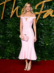 Poppy Delevingne attending the Fashion Awards in association with Swarovski held at the Royal Albert Hall, Kensington Gore, London.