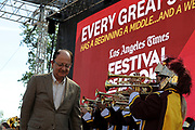 USC president C. L. Max Nikias, at the Los Angeles Times Festival of Books held at USC in Los Angeles, California on Saturday, April 22, 2017