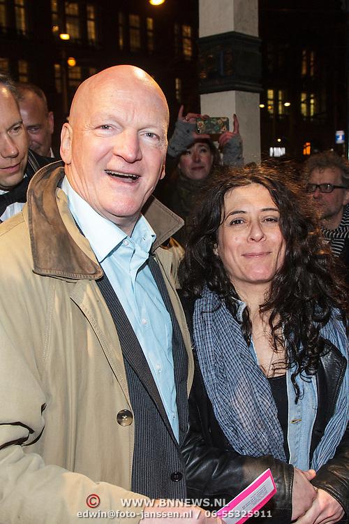 NLD/Amsterdam/20150306 - Boekenbal 2015, Arnold Karskens en ................