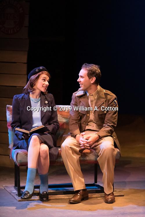 "The Bas Bleu Theatre Company rehearses its production of ""Last Train to Nibroc,"" February 21, 2019."