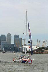 © Licensed to London News Pictures. 01/09/2013.  Photos of vessels taking part in the Clipper Race. The 11-month round the world race started today at Tower Bridge. Credit : Rob Powell/LNP