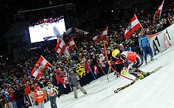 24.01.2012, Planai, Schladming, AUT, FIS Weltcup Ski Alpin, Herren, Slalom 2. Durchgang, im Bild Ivica Kostelic (CRO) // Ivica Kostelic of Croatia during the second run of the FIS Alpine Skiing World Cup mens slalom race, Schladming, Austria on 2012/01/24. EXPA Pictures © 2012, PhotoCredit: EXPA/ Sandro Zangrando
