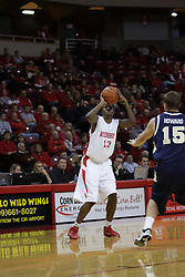 04 December 2010: John Wilkins during an NCAA basketball game between the Montana State Bobcats and the Illinois State Redbirds at Redbird Arena in Normal Illinois.