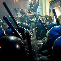No Tav proteste a Roma durante il summit Letta-Hollande