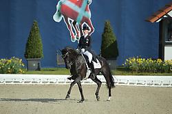 Zu Sayn Wittgenstein Nathalie, (DEN), Fabienne<br /> Qualification Grand Prix Special<br /> Horses & Dreams meets Denmark - Hagen 2016<br /> © Hippo Foto - Stefan Lafrentz