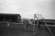 17/02/1963<br /> 02/17/1963<br /> 17 February 1963<br /> Soccer: Transport v Cobh Ramblers at Harold's Cross, Dublin.<br /> Transport's first goal.