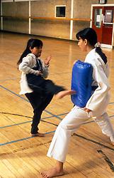 Karate class for Asian girls UK