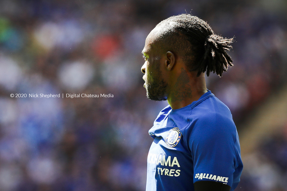 Victor Moses, Chelsea FC v Arsenal FC  -  FA Community Shield 2017, 06 August 2017, EDITORIAL USE ONLY