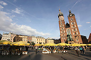 Poland,Krakow, Old town square