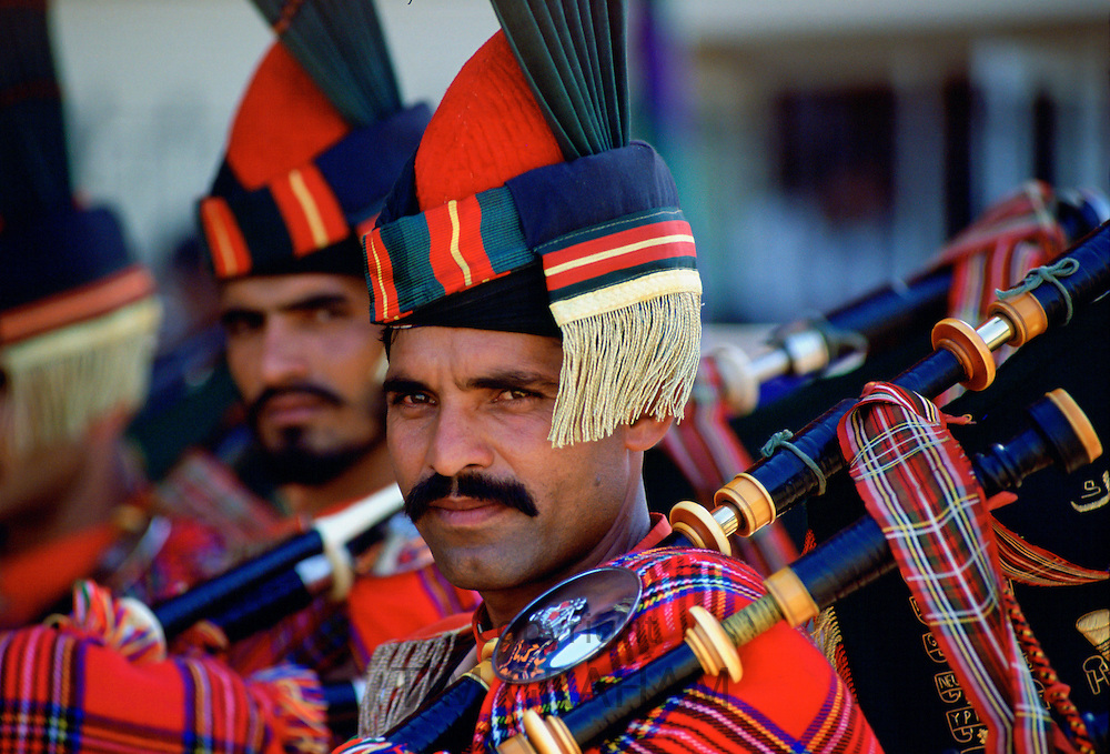 Military piper in Pakistan