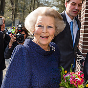 NLD/Apeldoorn//20170322 - Beatrix opent hoedententoonstelling Chapeaux in Paleis 't Loo, Prinses Beatrix