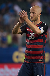 July 19, 2017 - Philadelphia, Pennsylvania, U.S - United States of America midfielder MICHAEL BRADLEY (26) during CONCACAF Gold Cup 2017 quarterfinal action at Lincoln Financial Field in Philadelphia, PA.  USA  defeats El Salvador 2 to 0. (Credit Image: © Mark Smith via ZUMA Wire)
