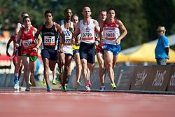 MADRIL Jorge, KHRUSTALEV Viacheslav, KORC Rafal, ARG, RUS, POL, 1500m, T20, 2013 IPC Athletics World Championships, Lyon, France