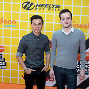 NLD/Amsterdam/20180325 - Nickelodeon Kid's Choice Awards 2018, Giovanni Kemper (L) en Louis Thyssen