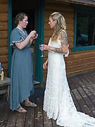 Wedding of Paisley Meekin and Ron Hope, July 17, 2021, Meekin's Airstrip, Sheep Mountain, Alaska.