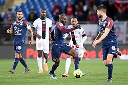 February 17, 2018 - Montpellier, France - 14 Giovanni SIO (mon) - 18 Lebogang PHIRI  (Credit Image: © Panoramic via ZUMA Press)