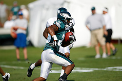 Philadelphia Eagles running back Lorenzo Booker #25 during the Philadelphia Eagles NFL training camp in Bethlehem, Pennsylvania at Lehigh University on Saturday August 8th 2009. (Photo by Brian Garfinkel)