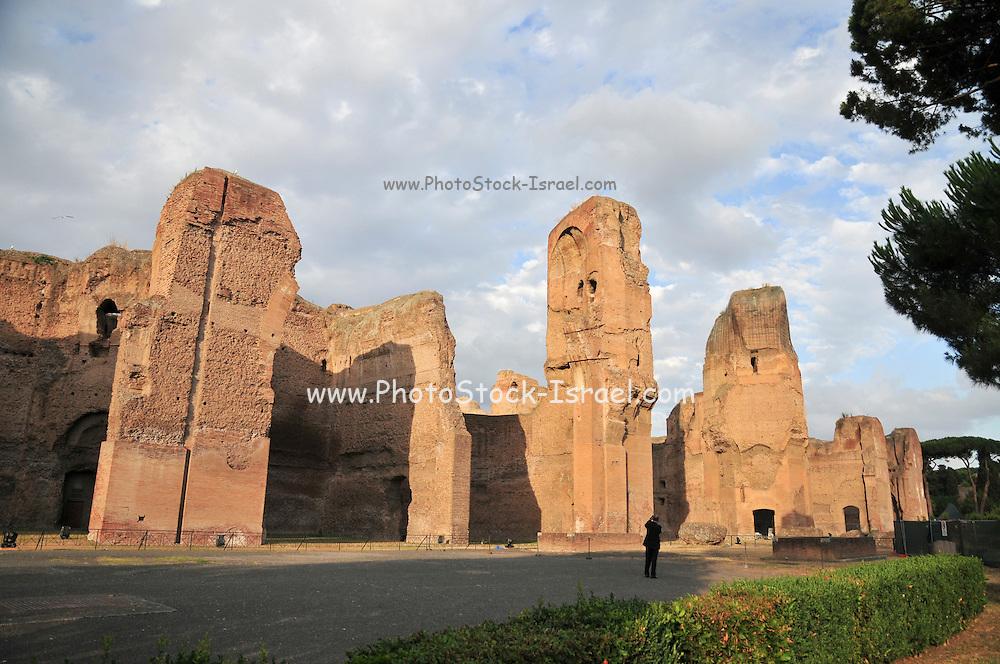 Rome, Italy The Baths of Caracalla (Terme di Caracalla)