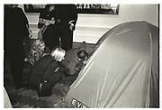 TRACEY EMIN TENT, Sensation Opening. Royal Academy of Art. London.16 September 1997.
