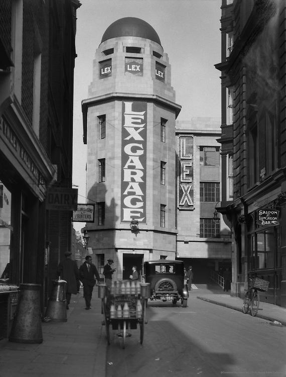Lexington Gardens, Soho, Great Windmill Street, London, 1928