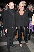 Denise Welch, Strangers On A Train - press night, Gielgud Theatre, London UK, 19 November 2013, Photo by Richard Goldschmidt
