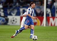Fotball<br /> Champions League 200/04<br /> Finale<br /> Porto v Monaco<br /> Arena Aufschalke Stadium - Gelsenkirchen Tyskland<br /> 26. mai 2004<br /> Foto: Digitalsport<br /> NORWAY ONLY<br /> MANICHE (POR)