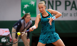 May 30, 2019 - Paris, FRANCE - Anna Blinkova of Russia in action during her second-round match at the 2019 Roland Garros Grand Slam tennis tournament (Credit Image: © AFP7 via ZUMA Wire)
