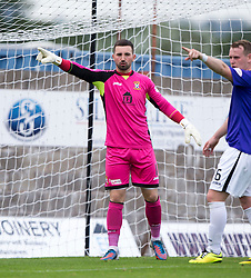 East Fife's Ryan Goodfellow.  <br /> East Fife 2 v 1 Elgin City, Ladbrokes Scottish Football League Division Two game played 22/8/2015 at East Fife's home ground, Bayview Stadium.