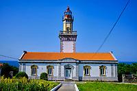 Espagne, Pays Basque, Guipuscoa, Fontarrabie, Phare de Cap Higer // Spain, Basque Country, Guipuscoa, Hondarribia, Cap Higer lighthouse
