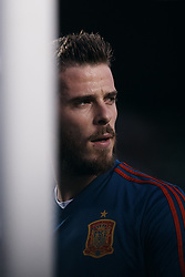 September 11, 2018 - Elche, Alicante, Spain - David De Gea of Spain looks on prior to the UEFA Nations League A group four match between Spain and Croatia at Manuel Martinez Valero on September 11, 2018 in Elche, Spain  (Credit Image: © David Aliaga/NurPhoto/ZUMA Press)