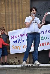 Chloe Smith MP, Conservative NorwichNorth, Norwich Pride 30 July 2016 UK