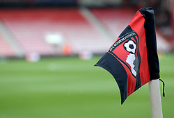 A detail view of a corner flag before the Premier League match at the Vitality Stadium, Bournemouth.