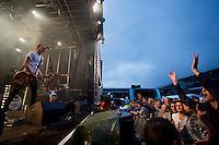 Oslo Ess spiller på Jugenfest 2013 på Color Line Stadion i Ålesund.<br /> Foto: Svein Ove Ekornesvåg