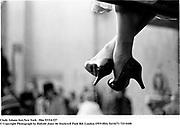 Cindy Adams feet.New York © Copyright Photograph by Dafydd Jones<br /> 66 Stockwell Park Rd. London SW9 0DA<br /> Tel 0171 733 01081993. film93314