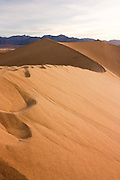 Sand dunes in Death Valley National Park, California.