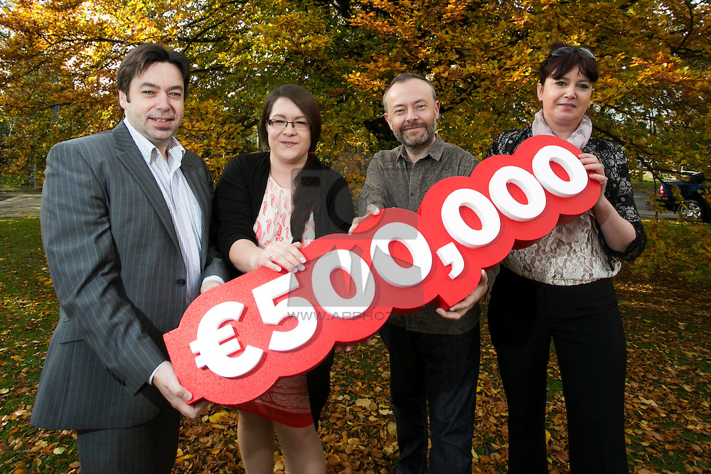DoneDeal Charity Month initiative surpasses €500K in donations<br /> <br /> -DoneDeal's October Charity Month recipients Epilepsy Ireland, Pomegranate and The Bracken Lab at TCD each receive over €12,750 –<br /> <br /> (Monday, 18th November 2013) DoneDeal, Ireland's largest and most successful online classifieds adverts site is delighted to announce that since February 2010 over €500,000 (it is now at over €625,000) has been donated to Irish charities.<br /> <br /> DoneDeal launched its Charity Month in February 2010 as a way of donating to the charities in the local area that were important to staff. Since the launch of this initiative every second month a charity has been chosen and for the duration of that month 10% of the cost of placing an ad has gone to the designated charity/charities.<br /> <br /> Pictured is Peter Murphy, Deputy CEO Epilepsy Ireland, Donna Spellacy, DoneDeal, 2FM's Rick O'Shea National patron of Epilepsy Ireland and Ashley Butler, Epilepsy Ireland who's charity received just over €12,750 as a result of DoneDeal's October Charity Month.  <br /> <br /> ENDS<br /> For further information:<br /> Wilson Hartnell: Martyn Rosney, Account Manager, 085 728 2151