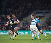 Twickenham, United Kingdom. Kyle SINCKLER, during the Old Mutual Wealth Series Rest Match: England vs Argentina, at the RFU Stadium, Twickenham, England, <br /> <br /> Saturday  26/11/2016<br /> <br /> [Mandatory Credit; Peter Spurrier/Intersport-images]